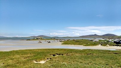 The Udal peninsula on North Uist