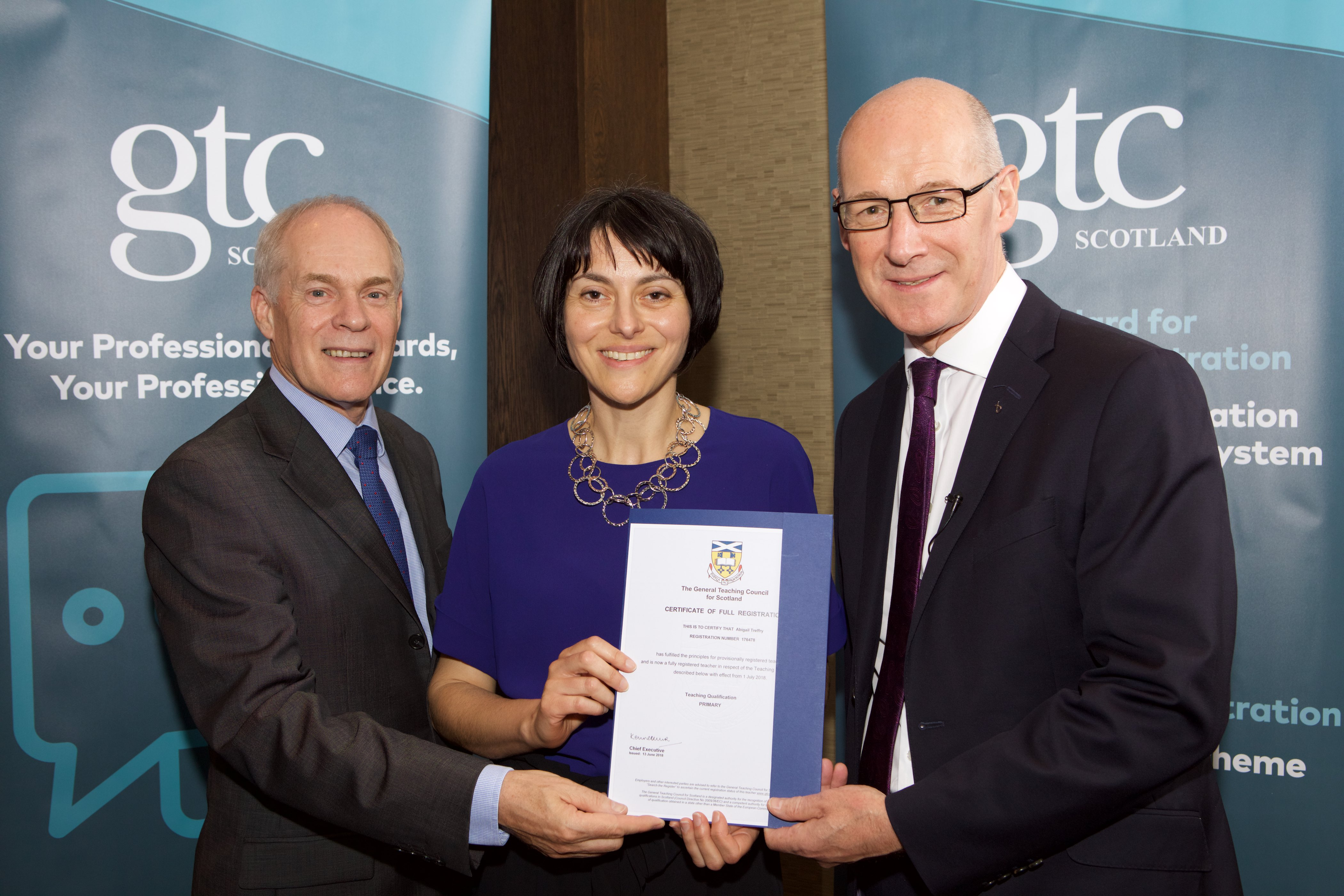 Probationer Wins National Award