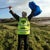 Local Volunteer Cleans Gress Beach