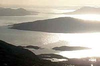 View of Taransay and West Loch Tarbert