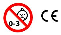 child safety and CE logo