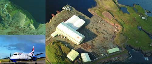 Aerial View of Arnish