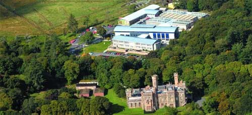Aerial View of UHI Building