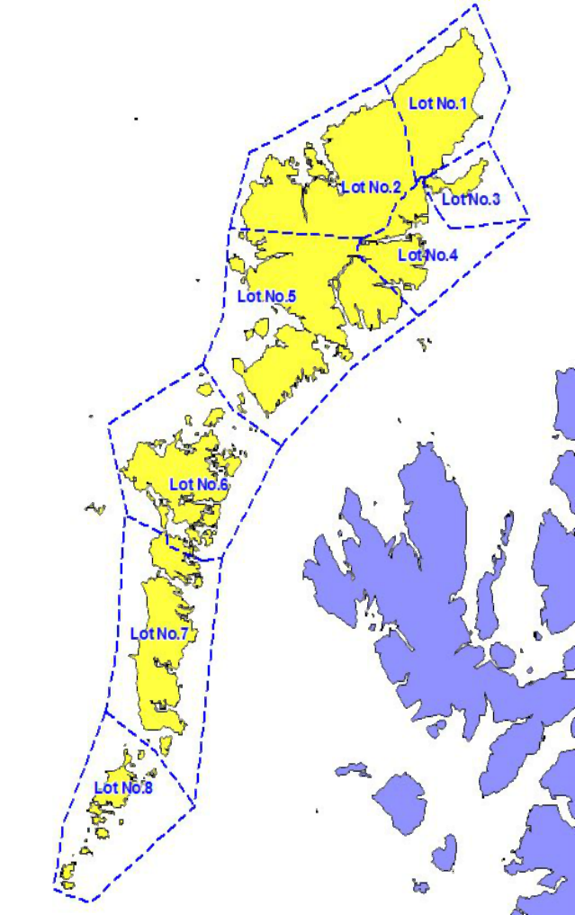 Gritting Area Coverage in Western Isles